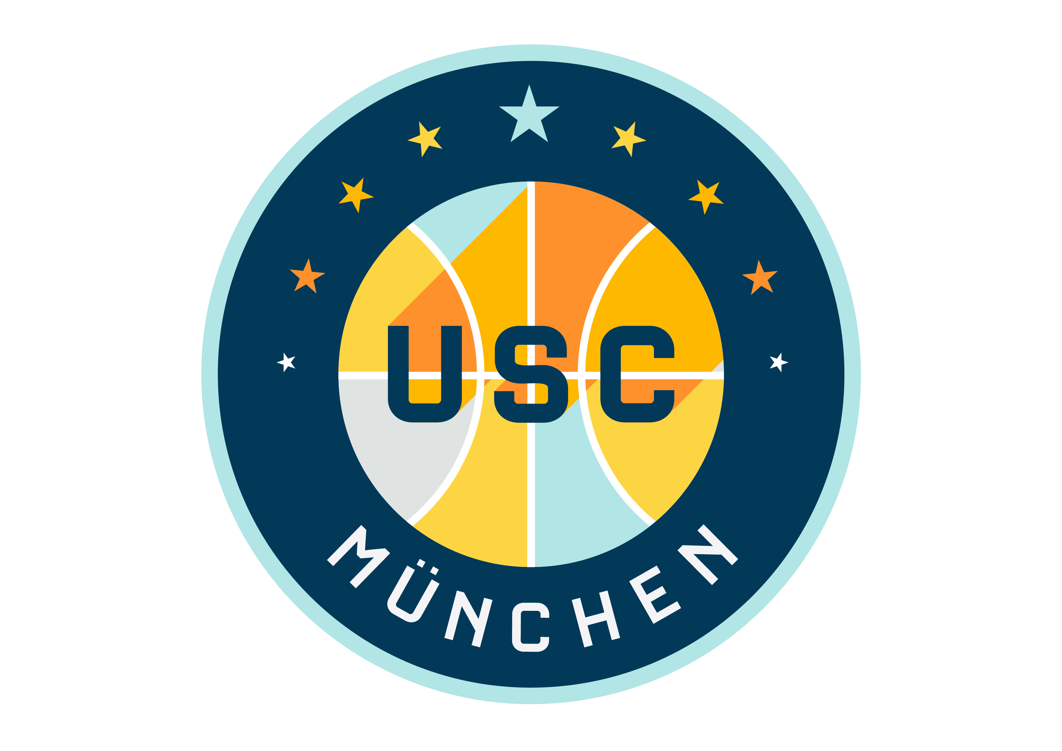Logo USC München Rollstuhlsport e.V.